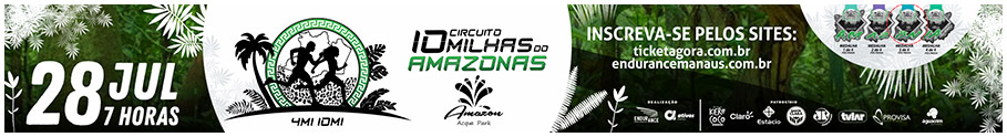 10 MILHAS DO AMAZONAS - ETAPA AMAZON ACQUA PARK 2019 - 28/07/2019 - Presidente Figueiredo / AM