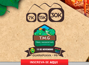 TRAIL MANANCIAIS DO GUABIROBA - 2016 - 13/11/2016 - Guarapuava / PR