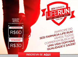 SESI FARM�CIA LIFE RUN - Etapa Joinville